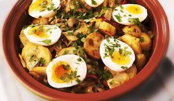 Идеальный ужин: аппетитная треска с картофелем