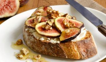 Идеальный завтрак: Французские тосты с инжиром