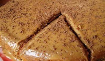Изумительный кофейный пирог на обычном кефире