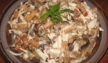 Изумительный вкусный салат «Улетный»
