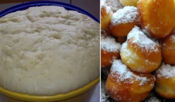 Как приготовить мягкое тесто для пончиков за 15 минут