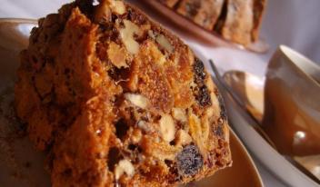 Как приготовить полезный кекс с сухофруктами