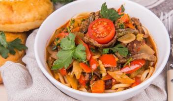 Как приготовить вкусно и быстро лагман дома