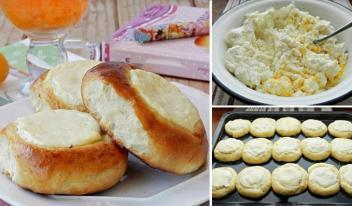 Как приготовить вкусные ватрушки с творогом в домашних условиях
