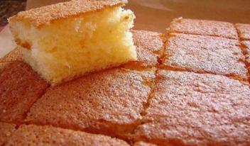 Как приготовить вкусный быстрый бисквит за 10 минут