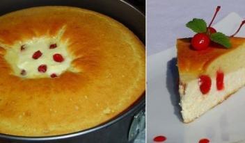 Как приготовить вкусный и необычный пирог - ватрушку на завтрак