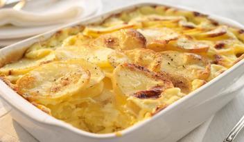 Картофельный гратен: вкусный и простой рецепт