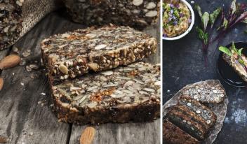 Необычно и вкусно: ореховый хлеб БЕЗ муки и дрожжей