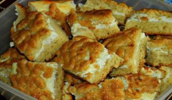 Необычное песочное печенье с творогом: пошаговый рецепт
