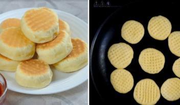 Необычное пышное печенье на сковороде