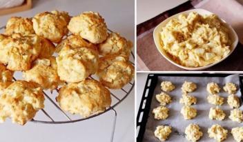 Необычное вкусное печенье «Яблочко»: пошаговый рецепт