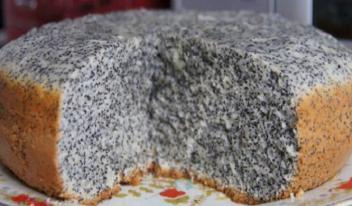 Необычный пирог маковник: пошаговый рецепт