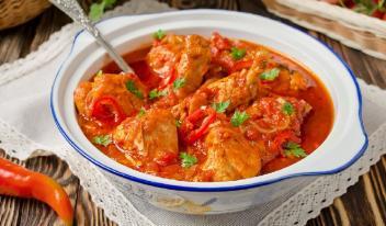 Необычный рецепт: чахохбили из курицы