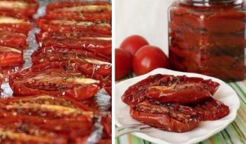 Невероятно вкусные вяленые помидоры по-итальянски. Невозможно оторваться!