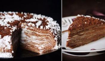Невероятный шоколадный торт на сковороде: пошаговый рецепт