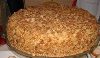 Обалденный торт Наполеон за пол часа: пошаговый рецепт