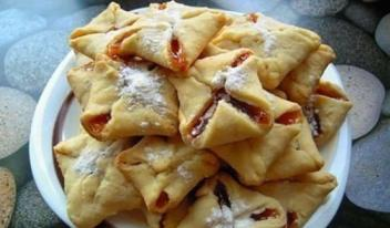 Очень быстрое печенье «Конвертики»: пошаговый рецепт