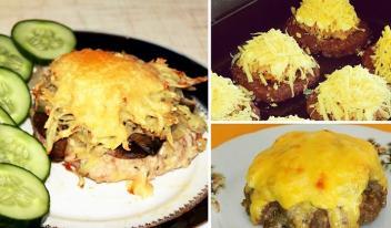 Оригинальная мясная закуска «Сугробы»