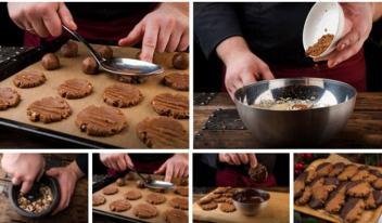 Оригинальное пышное шоколадное печенье: пошаговый рецепт