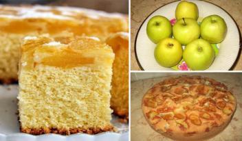 Оригинальный рецепт приготовления шарлотки с яблоками