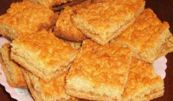Оригинальный тертый пирог «Каракум»: пошаговый рецепт