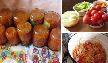Овощной салат по-белорусски на зиму. Простой и вкусный рецепт!