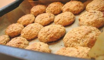 Овсяное печенье за 10 минут. Самый быстрый рецепт!
