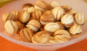Печенье «Орешки» из детства: простой и быстрый рецепт!