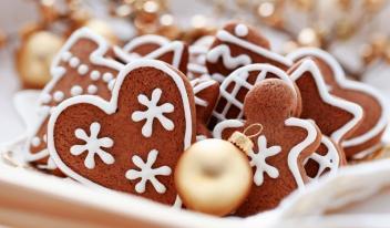 Печенье Рождественская звезда