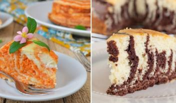 Пирог Зебра: ТОП-3 простых рецепта приготовления