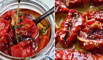 Пошаговые рецепты самых вкусных вяленых томатов