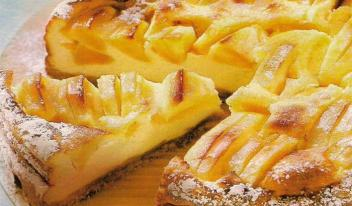 Пошаговый рецепт: Яблочный пирог на молоке. Очень просто и вкусно!