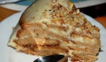 Пошаговый рецепт холодного торта «Песочный рай»