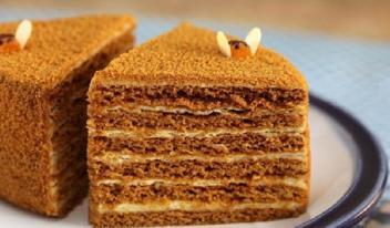 Пошаговый рецепт теста для торта «Медовик»