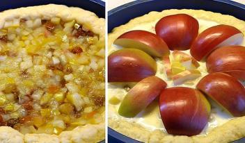 Пошаговый рецепт восхитительного нежного яблочного пирога в духовке