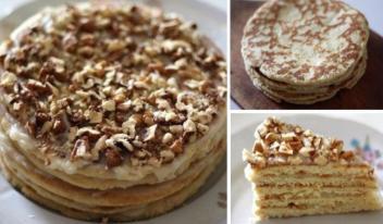 Простой и вкусный рецепт торта на сковороде всего за полчаса!