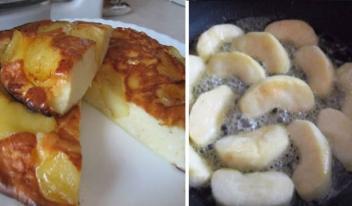 Простой и вкусный творожно-яблочный пирог