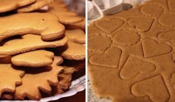 Простой рецепт изумительного домашнего имбирного печенья