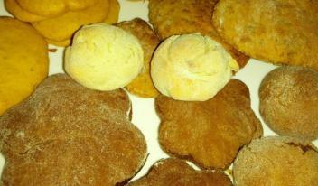 Простой рецепт постного печенья с имбирем и лимоном
