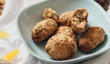Простой рецепт приготовления постного итальянского печенья Кавалуччи