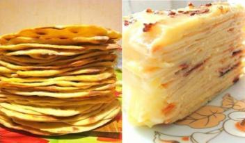 Простой рецепт: торт с нежным творожным заварным кремом