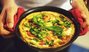 Пышный омлет: секреты вкусного завтрака