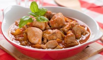 Рецепт для микроволновой печи: курица с помидорами
