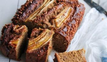 Рецепт домашней выпечки: банановый хлеб с гречкой