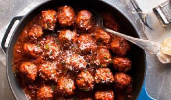 Рецепт мясных шариков по-итальянски