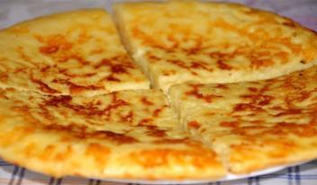 Рецепт приготовления быстрого хачапури на сковороде