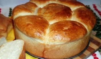 Рецепт приготовления домашнего пышного хлеба на кефире