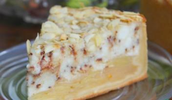 Рецепт приготовления яблочно-творожного пирога с шоколадом