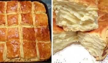 Рецепт приготовления настоящего погача с сыром