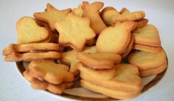 Рецепт приготовления песочно-творожного печенья